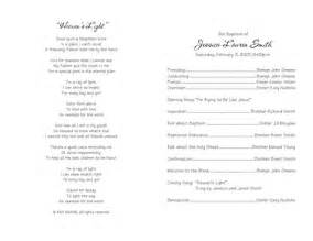 Baptism Template Lds by Best Photos Of Free Church Program Format Free Church