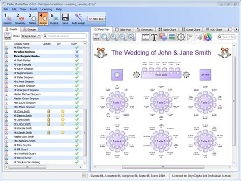 banquet table layout software perfect table plan software for wedding professionals