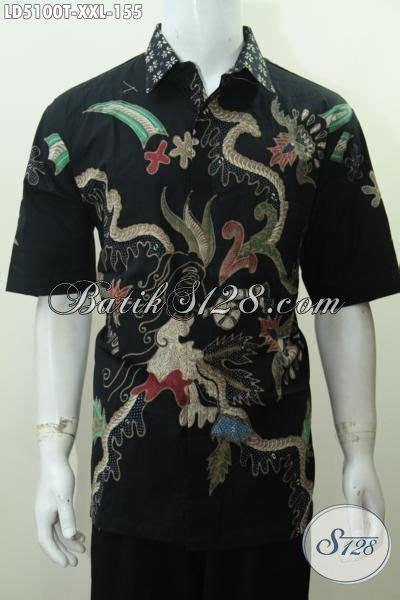 Hem Batik Pria Katun Premium Ukuran Jumbo Hrb 055 produk baju batik untuk pria dewasa motif terbaru hem