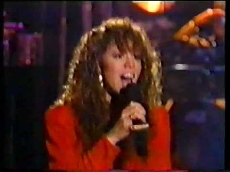 Carey Prances Out Of Hotel by Carey Emotions Live At Arsenio Show 1991