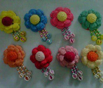 Bros Mutiara Besar 15 bros bunga supplier rajut indonesia