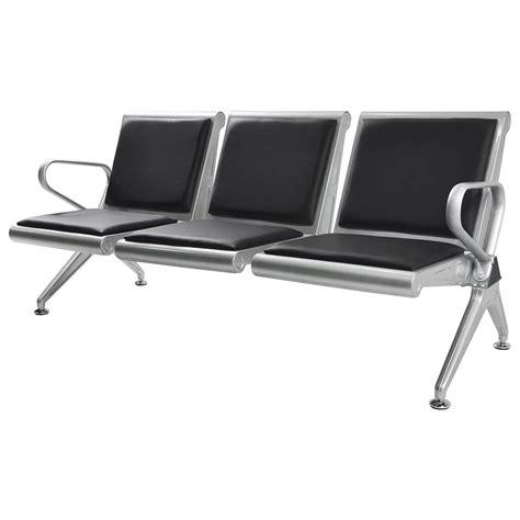 seat airport hospital reception waiting chair salon bank