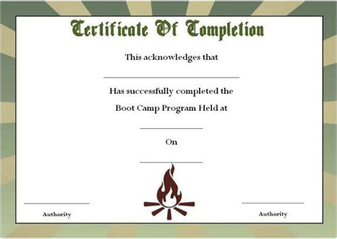 army certificate of completion template u s army department center school portal army