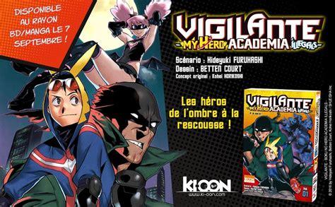 my hero academia 01 8416693501 vigilante my hero academia illegals chez ki oon 01 ao 251 t