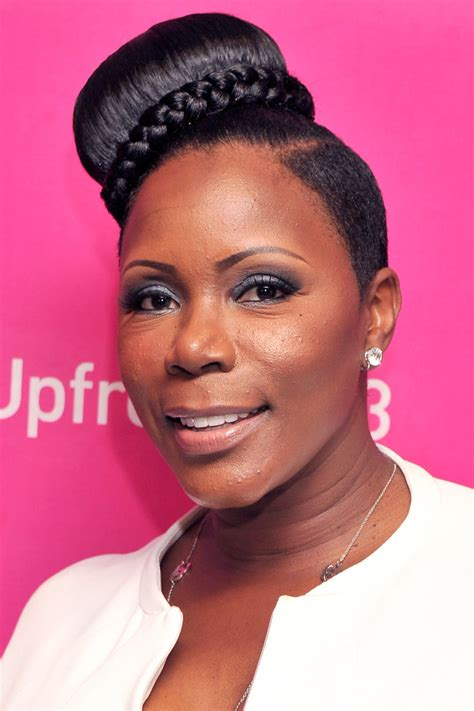 Sommore Hairstyles by Sommore Braided Bun Updos Lookbook Stylebistro