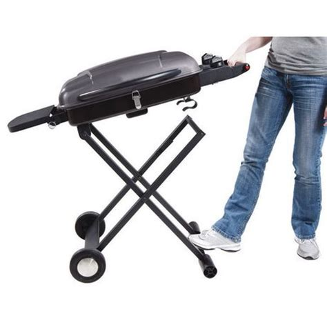 backyard grill 2 burner portable gas grill bbq with cart