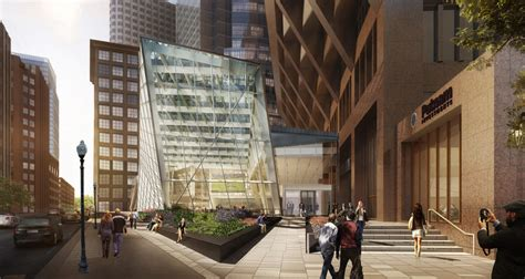 glass atrium proposed for 100 federal st boston herald 100 federal winter garden mikyoung kim design