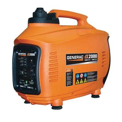 generac ix2000 watt inverter generator home depot canada