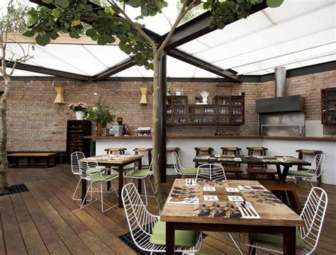 Restaurant With Large Open Garden   InteriorZine