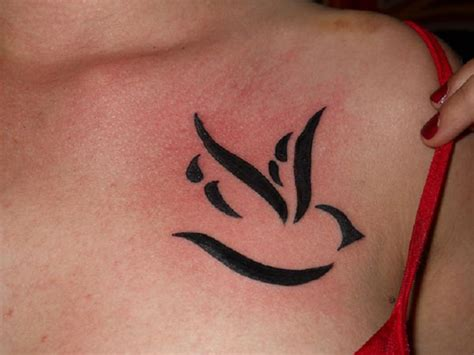 dove tribal tattoo 40 dove tattoos for