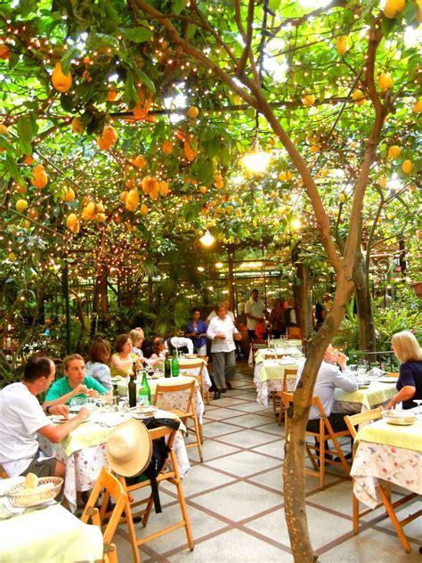 sorrento best restaurants our wedding restaurant o parrucchiano in sorrento