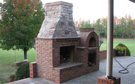the riley family wood fired brick pizza oven by brickwood