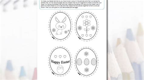 easter bonnets templates 21 best images about easter crafts on