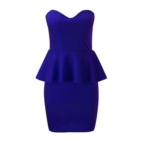 Blue Peplum Dress royal blue peplum dress my style