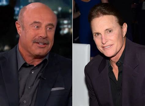 dr phil bruce jenner transitioning dr phil jokes bruce jenner is too old for gender