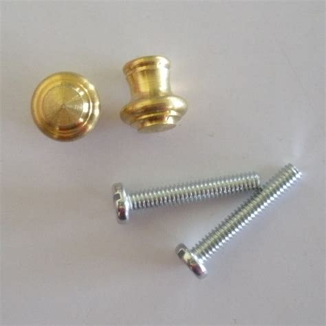 Small Brass Knobs by Small Satin Brass Piano Desk Knobs One Pair Howard