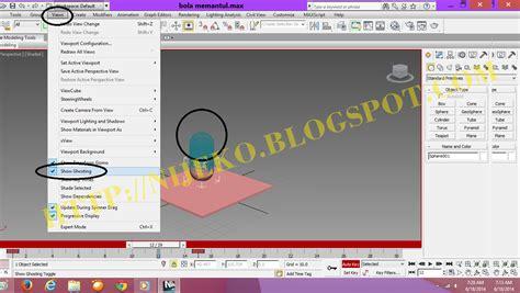 membuat video animasi 3d cara membuat animasi 3d bola memantul di 3dsmax 2013
