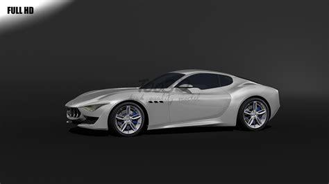 Maserati Alfieri 3d Max