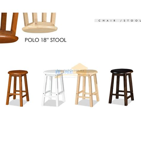 Coffee Shop Stools by Uhome 18 Inch Rounded Wooden Bar Stool Chair For Coffee