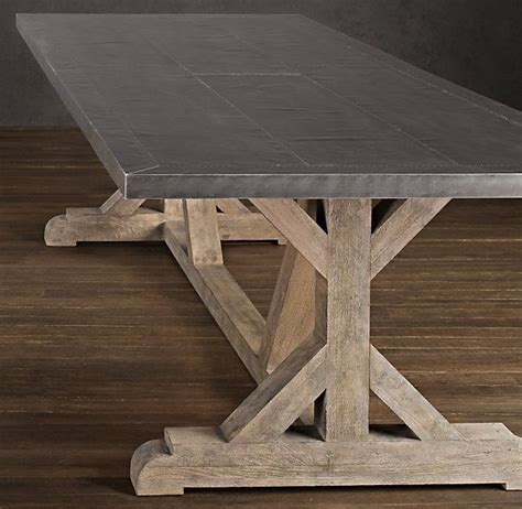 Restoration Hardware Table Ls by Railroad Tie Rectangular Dining Table Dining Room