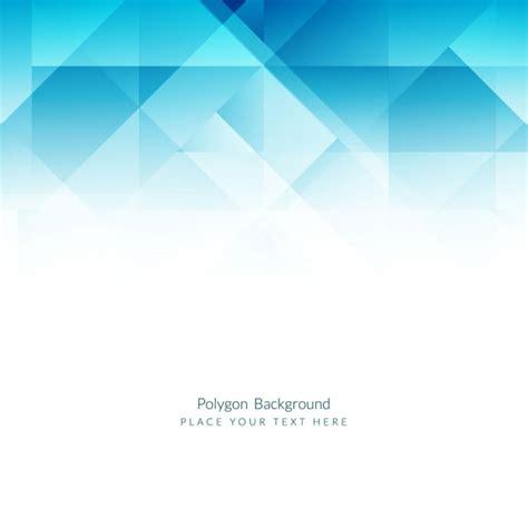 background flat design blue polygons background in flat design vector free download