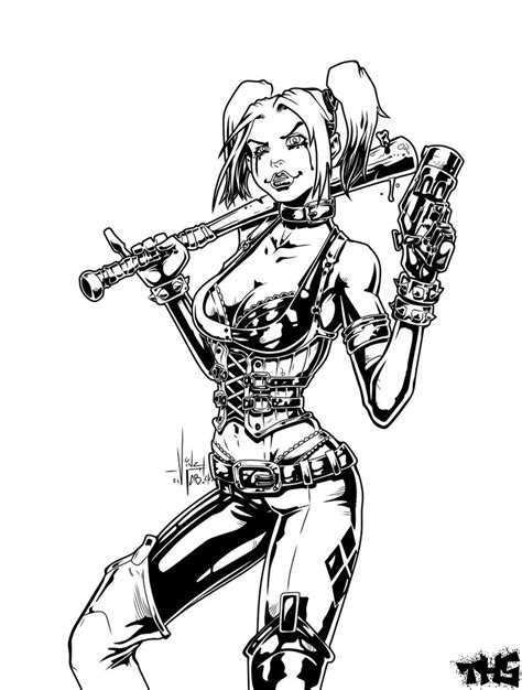 harley quinn coloring pages for adults harley quinn coloring pages for adults coloring pages