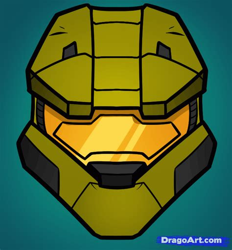 drawing games how to draw master chief easy halo step by step video