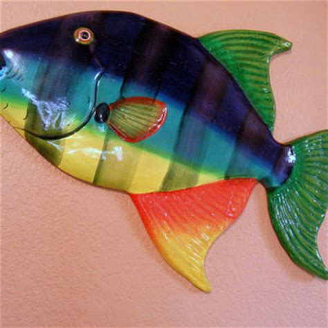 How To Make Paper Mache Fish - best fish sculpture wall products on wanelo