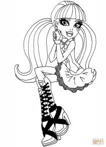 cool click the monster high draculaura coloring pages to