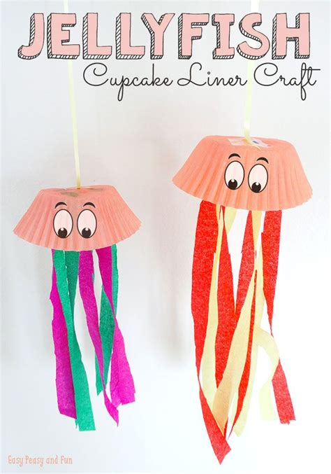 How To Make A Paper Jellyfish - 25 best ideas about jellyfish crafts on paper