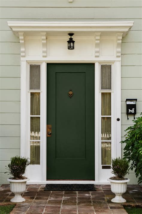 Front Door Colors For Green House Ten Best Front Door Colours For Your House Killam The True Colour Expert