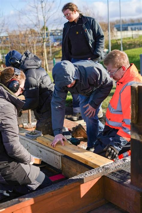 pirate ship rebuild move  wood recycling edinburgh