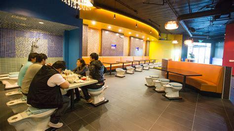 the bathroom restaurant toilet themed restaurant debuts in city of industry ktla