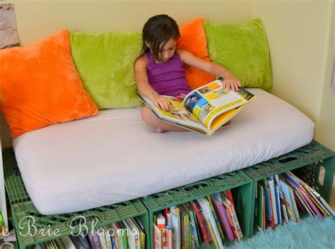 kids reading bench 15 creative book storage ideas for kids hative