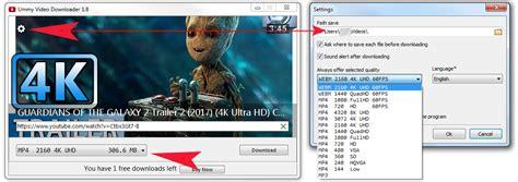 download youtube ummy ummy video downloader step 2 download youtube video 4k