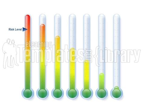 powerpoint thermometer template powerpoint graphic chart thermometer template gt gt 22