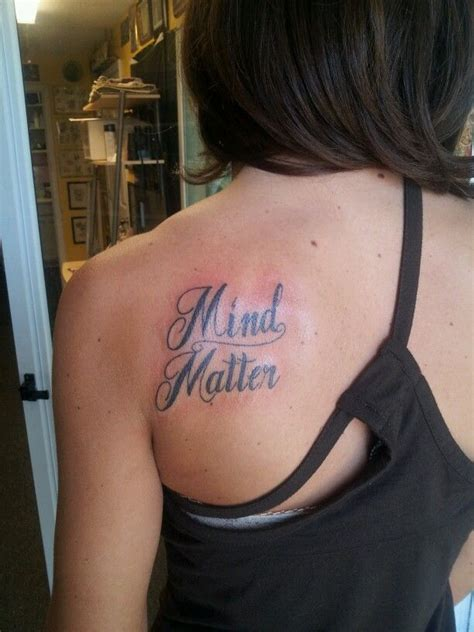mind over matter tattoo 17 best images about ideas on lotus
