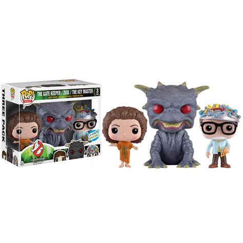three pack ghostbusters three pack at walmart popvinyls