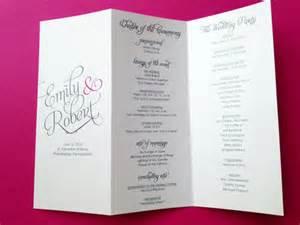 Wedding Planner Brochure Template by 25 Wedding Program Brochure Templates