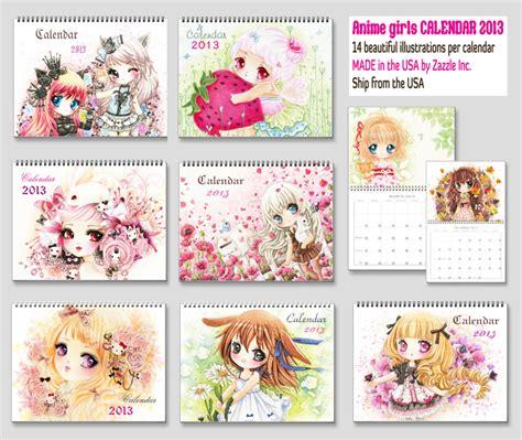 Anime Calendar Anime Chibi 2013 Calendars By Tho Be On Deviantart