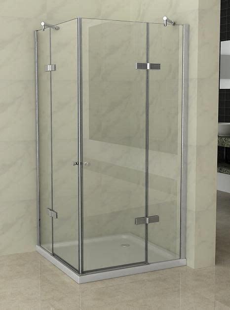 ducha anticalcare box doccia cristallo 8 mm frameless doppio battente