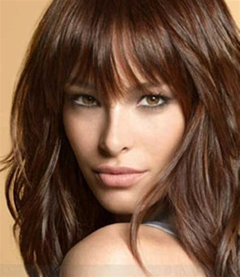 2017 Hairstyles For 50 With Bangs by 50 New Haircuts With Bangs Hairstyles 2016 2017