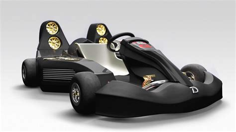 Bugatti Go Kart Electric Go Kart Does 0 60 In 1 5 Seconds