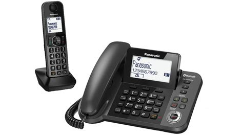 panasonic dect tgf38 series corded cordless home phone