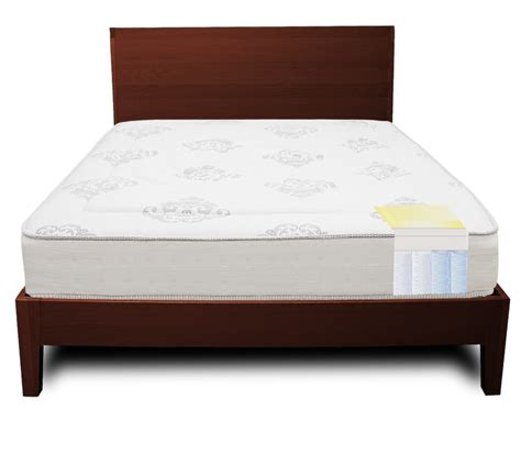 5 Inch Mattress by Decker 10 5 Inch Hybrid Memory Foam Mattress Classic Brands