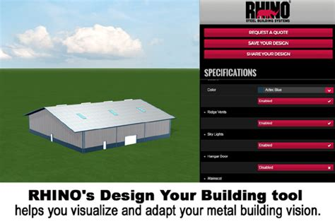 building design tool 3 mistakes to avoid when buying a metal building rhino