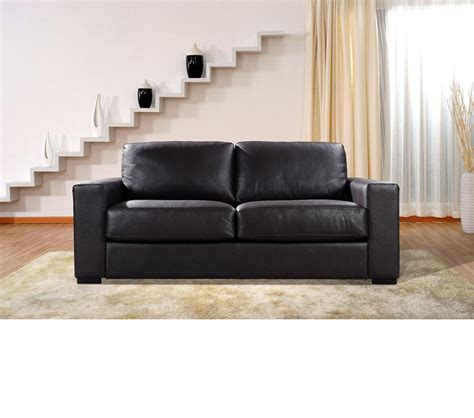 modern brown leather sofa dreamfurniture com dual modern chocolate brown leather