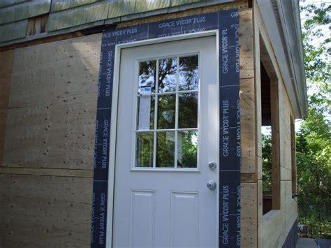 replacing exterior door replacing exterior door brick molding leaking door and