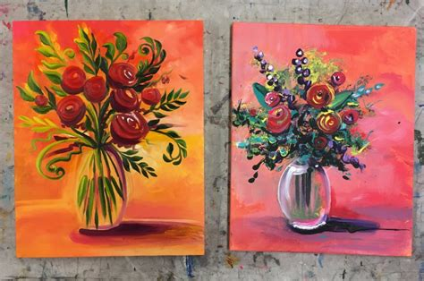 acrylic painting vs coral the supply depo