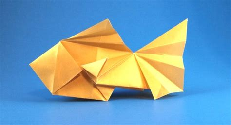 Gold Fish Origami - origami goldfish page 1 of 3 gilad s origami page